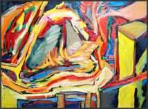 Abstract Artist: James Homer Brown, Colorful Abstracts, Pop