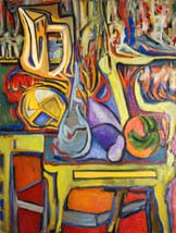 Colorful Abstract Still Life